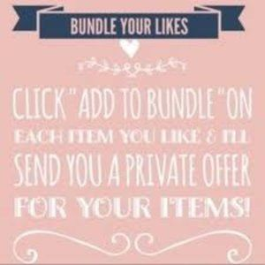 Please bundle your likes if you want a discount